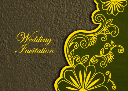 Marriage Invitation Card was awesome invitations template